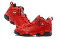New Jordan Team 2 GS Red Black Shoes