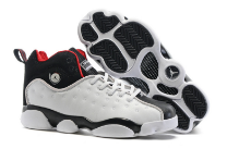 New Jordan Team 2 GS White Black Shoes