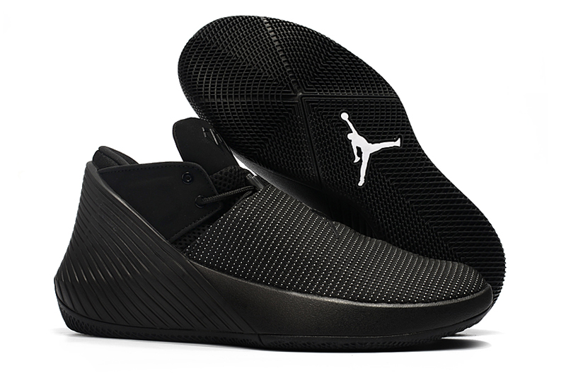 New Men Jordan Why Not Zero.1 Low All Black Shoes