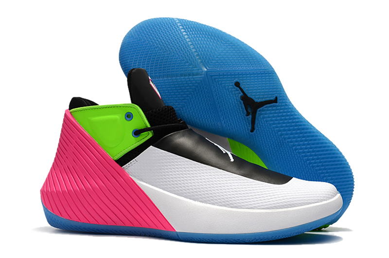 New Men Jordan Why Not Zero.1 Low White Black Green Pink Shoes