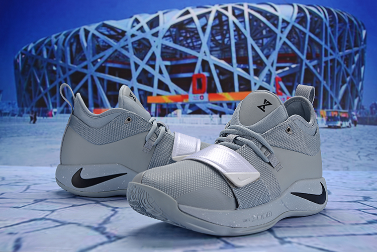 New Men Nike PG 2.5 Wolf Grey Silver Shoes