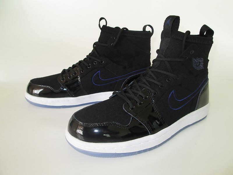 6b1c4040f204d6 New Air Jordan 1 All Black Knitted Socks Shoes  WOMEN1197  -  93.00 ...