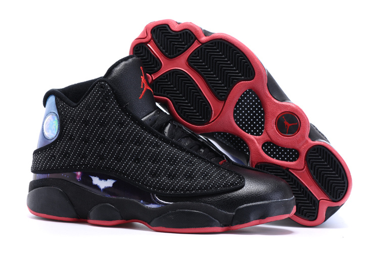 New Air Jordan 13 Dawn Of Justice Black Red Shoes