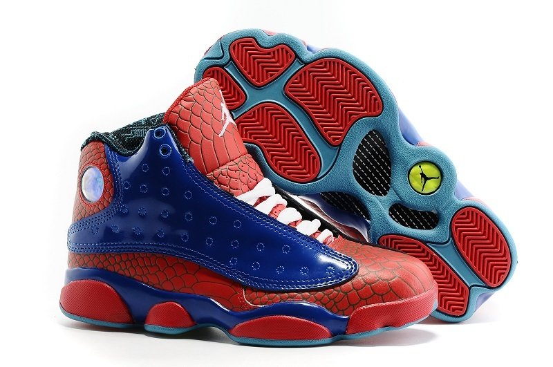New Air Jordan 13 GS Red Blue Shoes