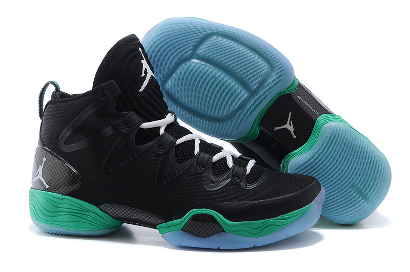 New Air Jordan 28 SE Black Green Shoes