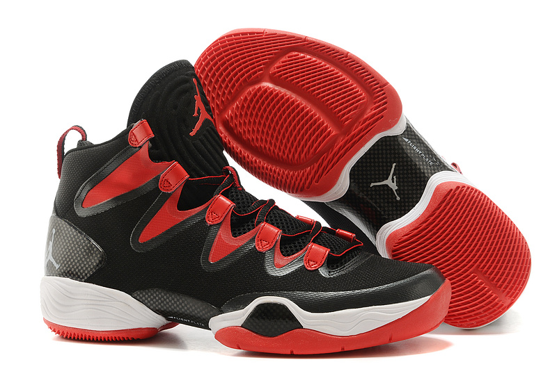New Air Jordan 28 SE Black Red White Shoes