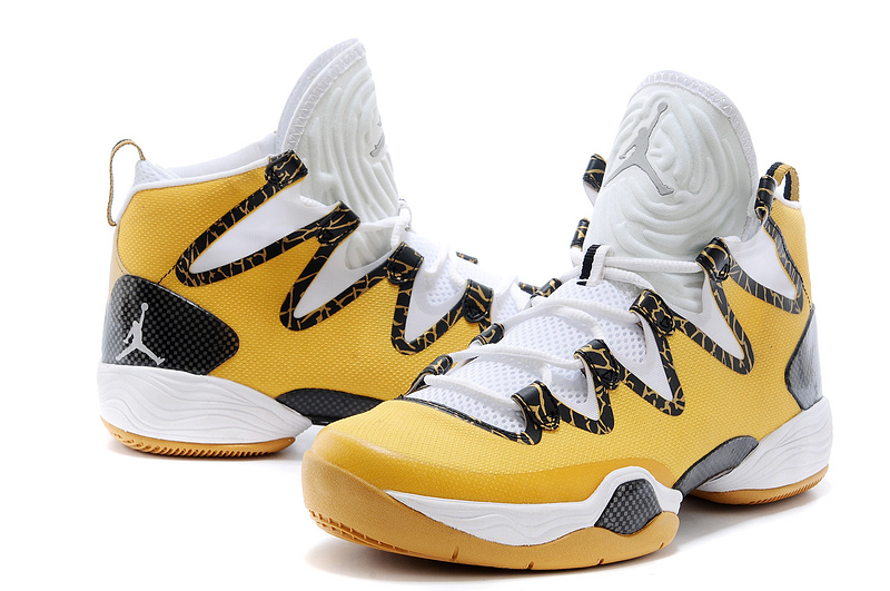 sneakers for cheap 7952d 5b1f4 New Air Jordan 28 SE Yellow White Black Shoes