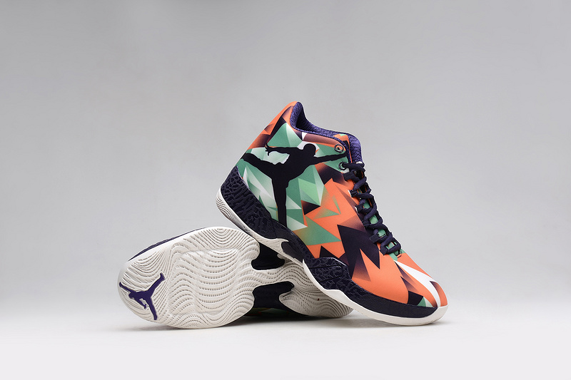 New Air Jordan 29 Buggs Bunny Black Orange Green Shoes