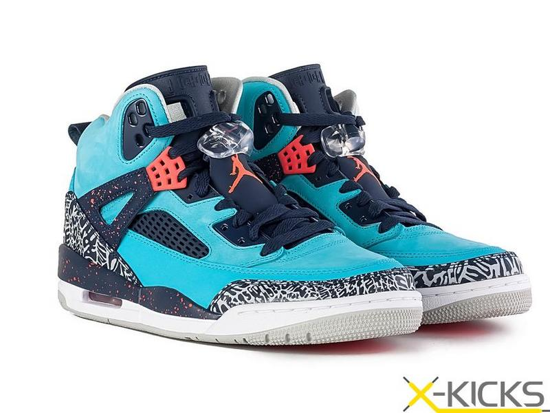 New Air Jordan 3.5 Blue Black Red Shoes