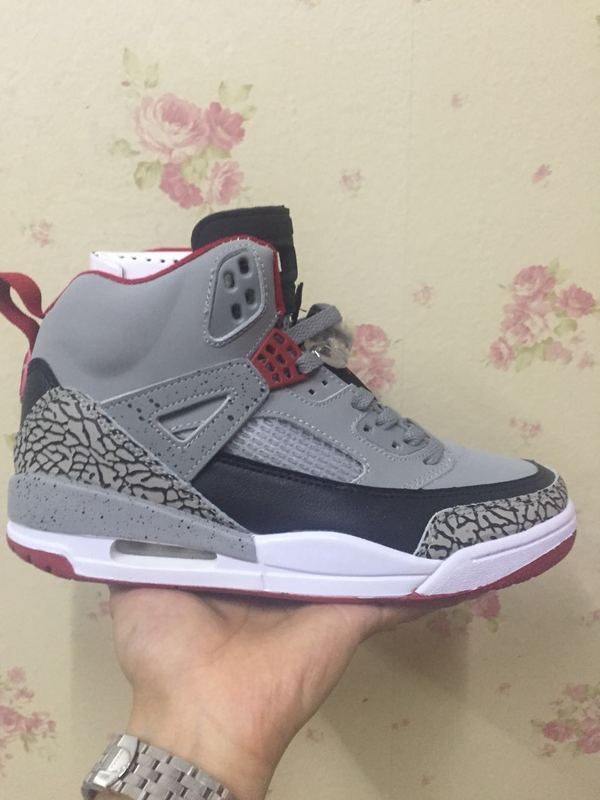 New Air Jordan 3.5 Grey Black Red Shoes