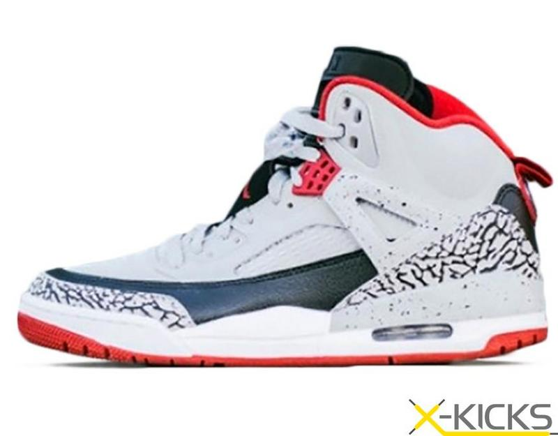New Air Jordan 3.5 Grey White Black Red Shoes