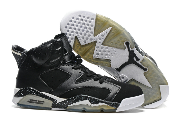 New Air Jordan 6 Black Oreo