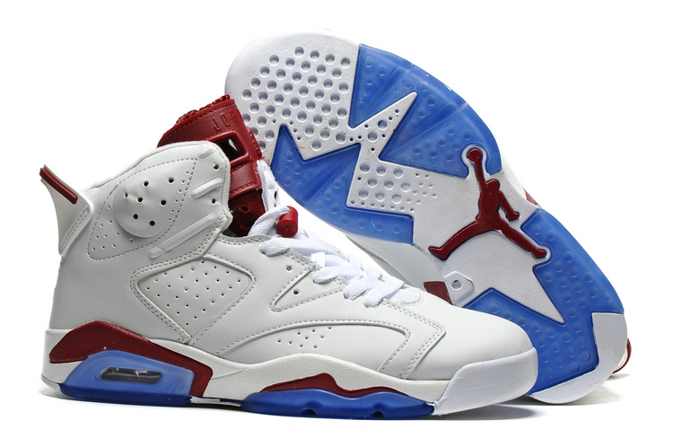New Air Jordan 6 Maroon