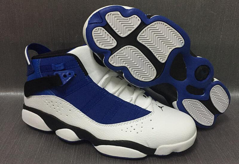 New Air Jordan 6 Rings French Blue