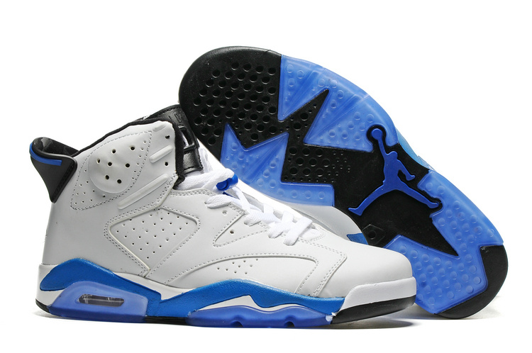 New Air Jordan 6 Sport Blue