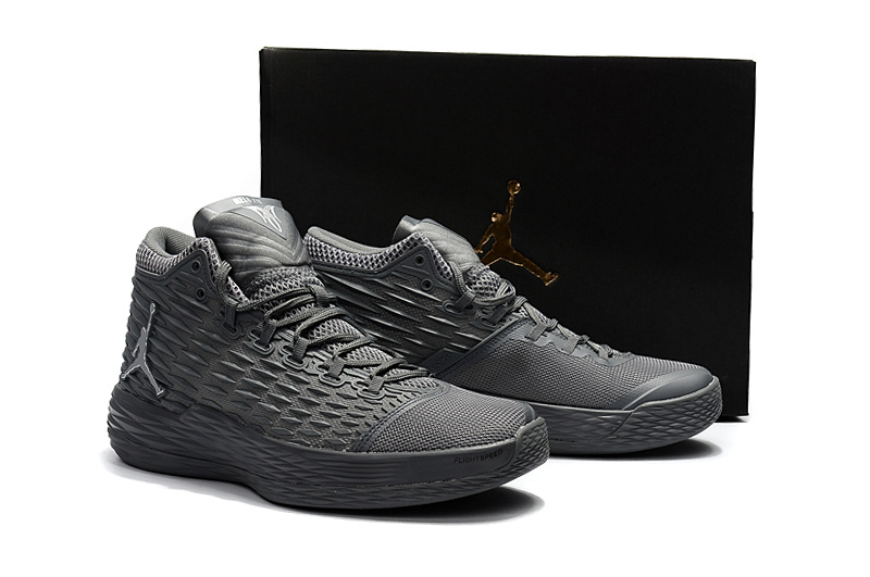 New Air Jordan Melo 13 Wolf Grey Shoes
