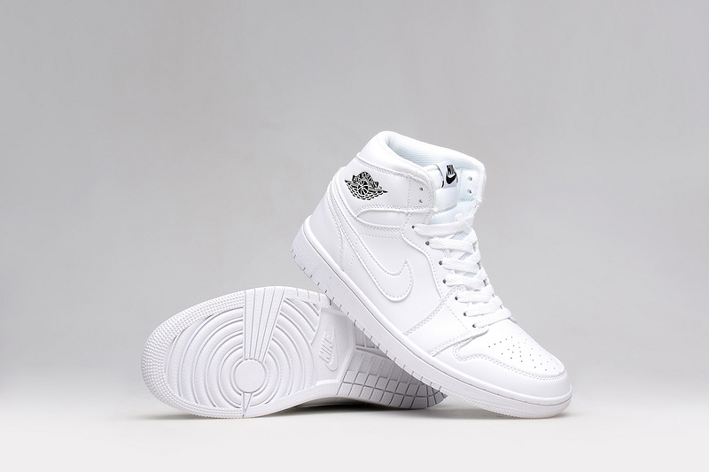 online store 2fd2b e65b8 New All White Air Jordan 1 Retro Shoes For Women [WOMEN016 ...