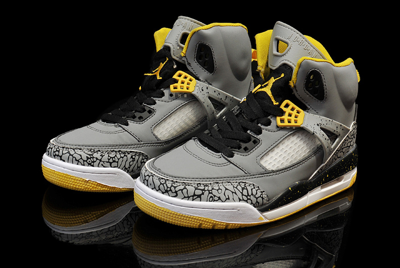 sports shoes 8e313 4f636 New Arrival Womens Air Jordan 3.5 Grey Black Yellow Shoes