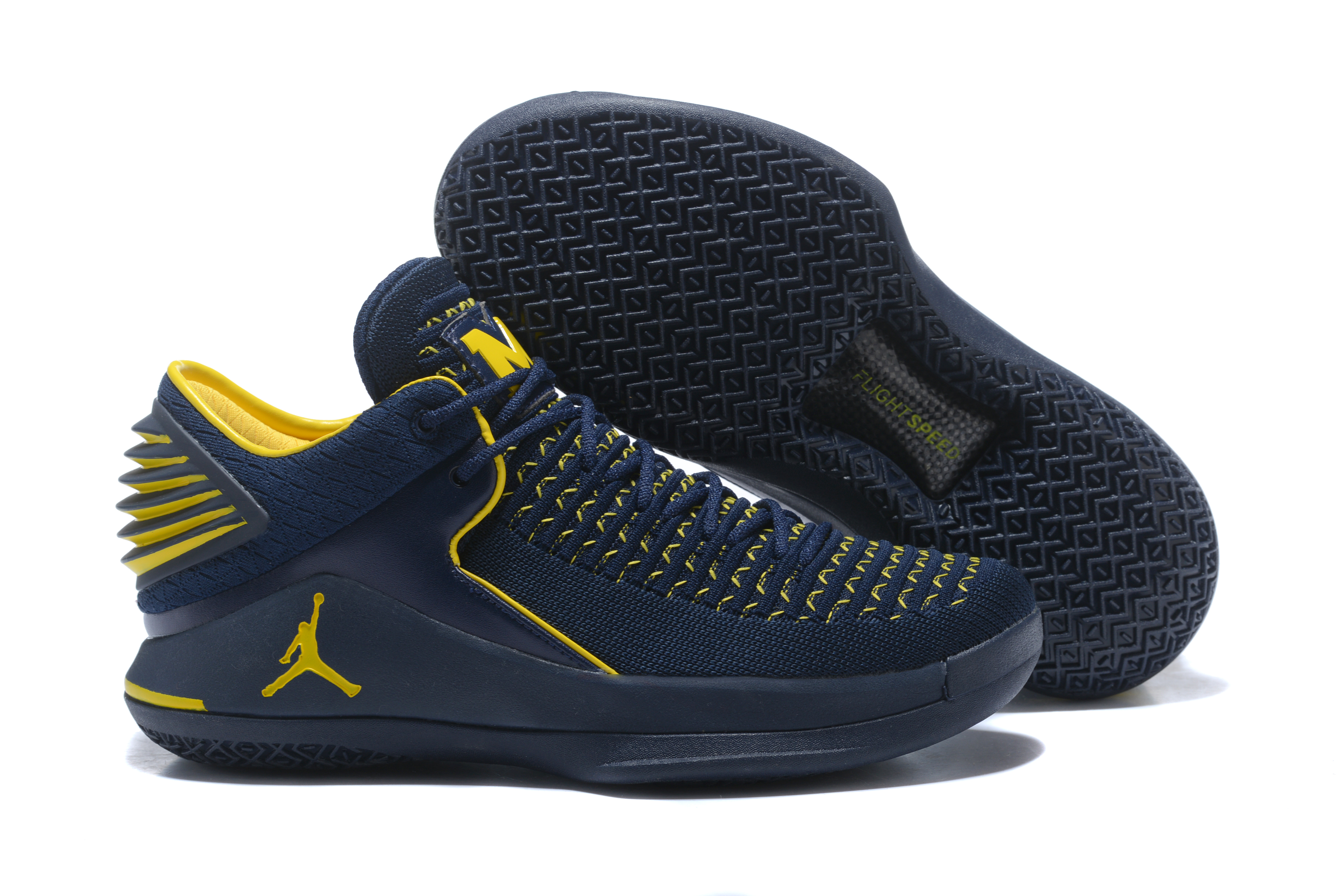New Air Jordan 32 Michigan Basketball Shoes