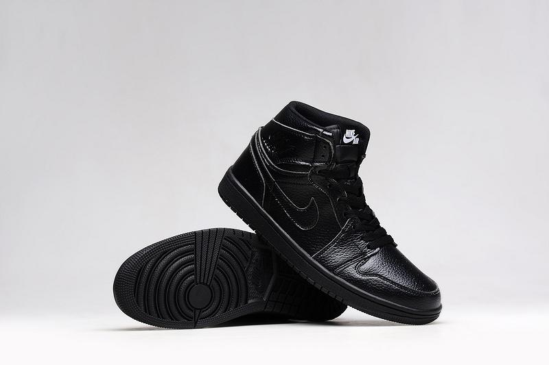 56c2fa2861eb75 New Men Air Jordan 1 Retro All Black Shoes  WOMEN1061  -  90.00 ...
