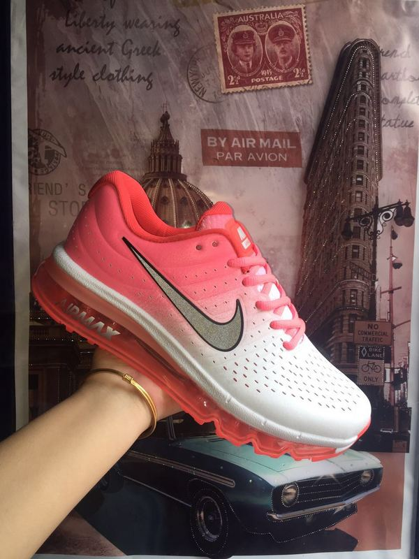 New Air Max 2016 White Peach Shoes For Women