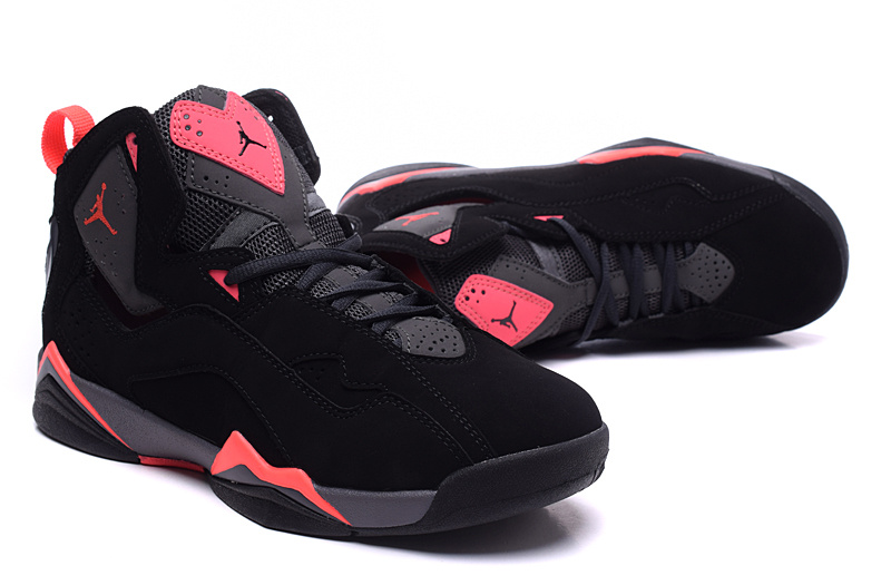 d96a5bd7743ec9 New Women Air Jordan 7 Improved Black Red Shoes  WOMEN361  -  88.00 ...
