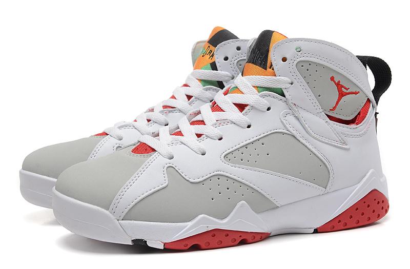 online store c2353 90ea4 New Women Jordan 7 Retro White Grey Red Shoes [WOMEN351] - $87.00 ...