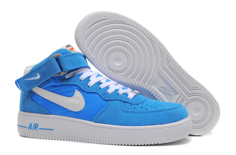 Nike Air Force 1 High Blue White Sneaker