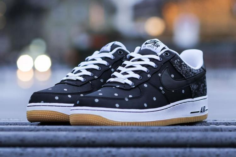 Nike Air Force 1 Low Blacke White Sneaker