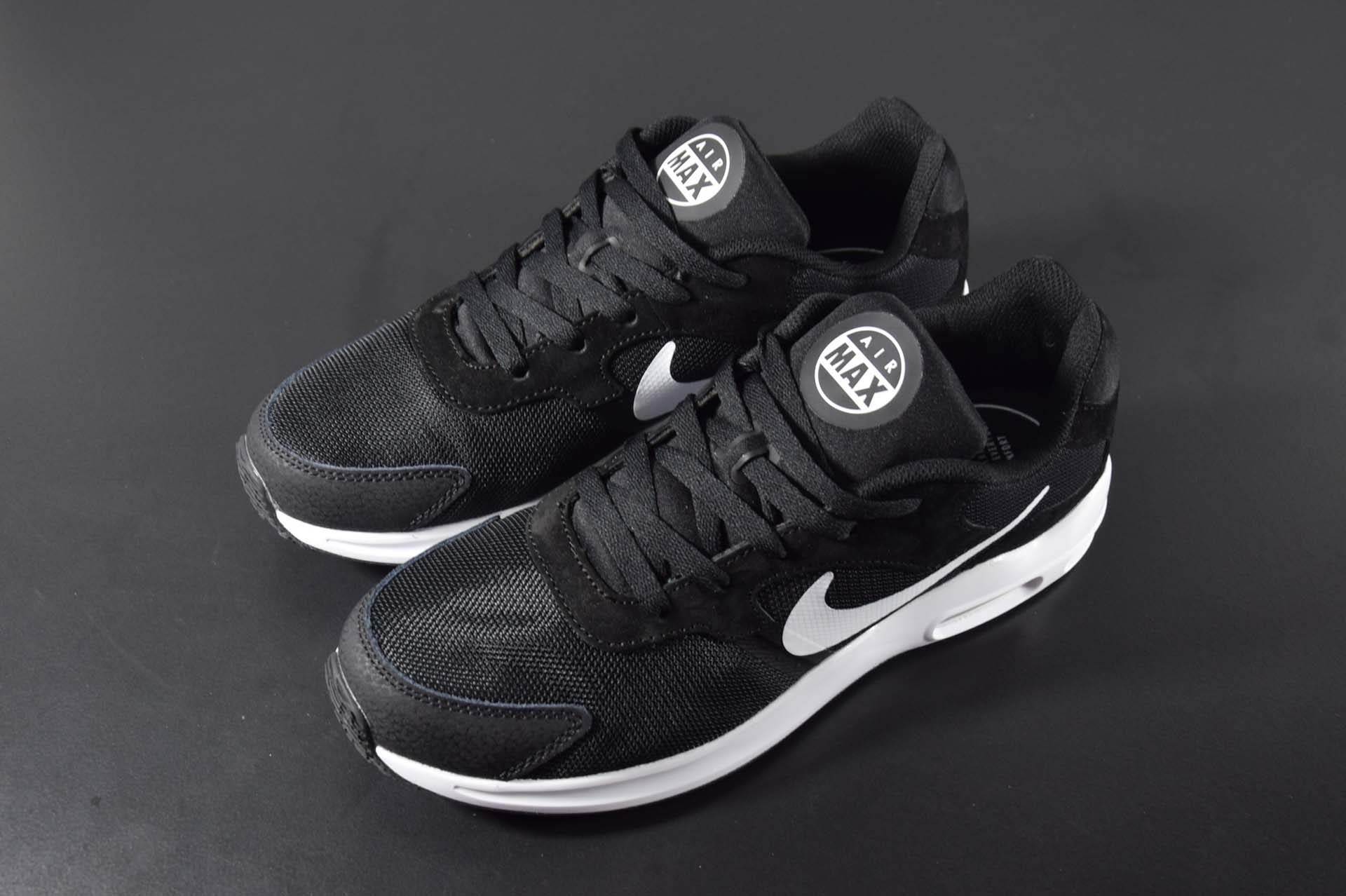 Nike Air Max Guile Black White For Women