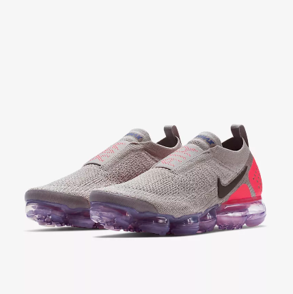 Nike Air VaporMax FK Moc Grey Pink Running Shoes For Women