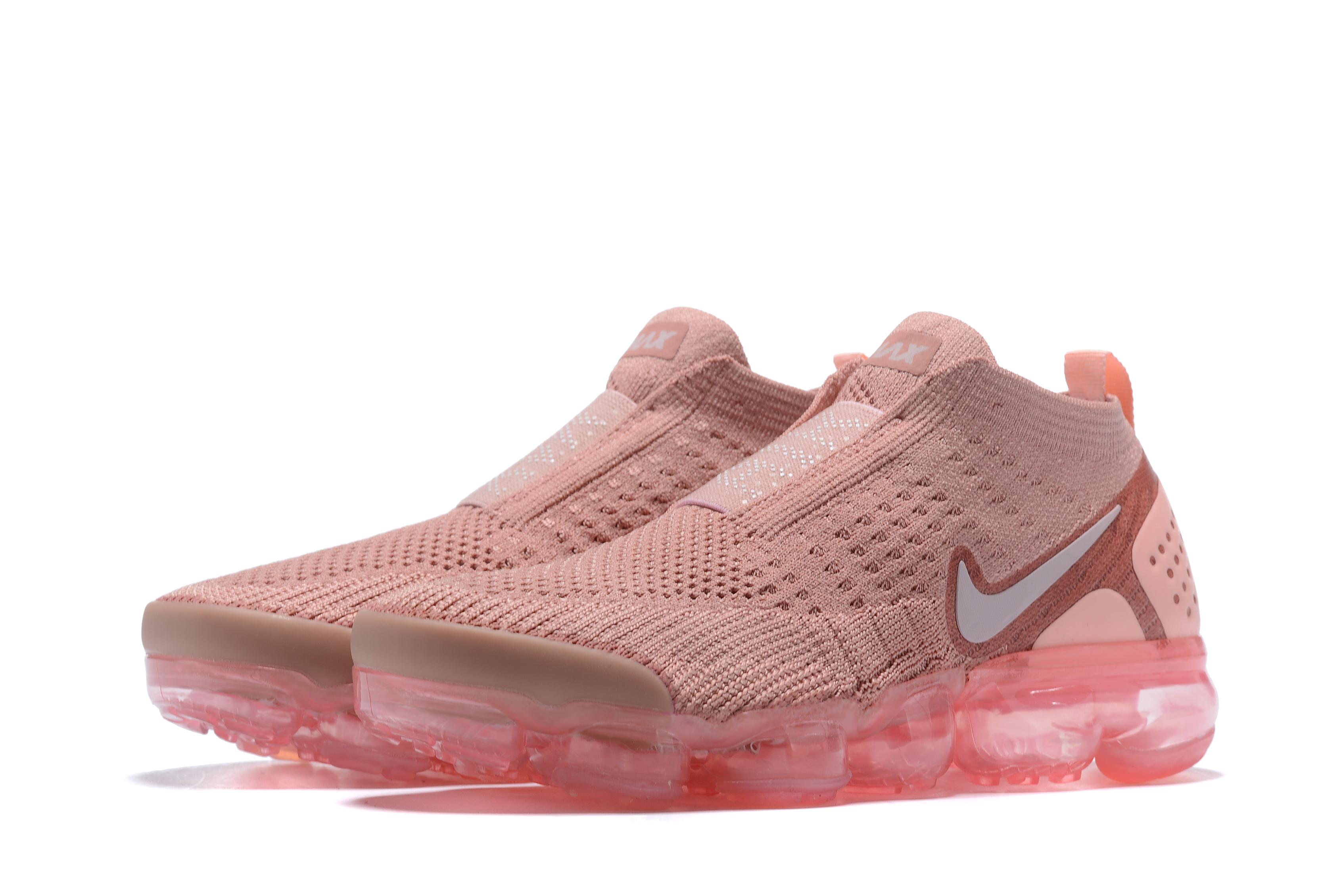 Nike Air VaporMax FK Moc Pink Running Shoes For Women