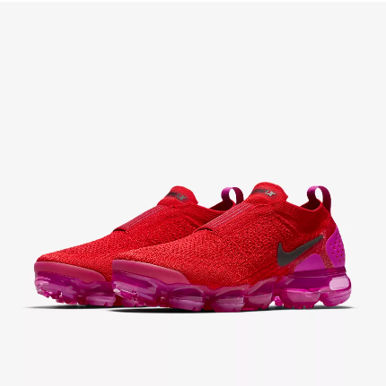 Nike Air VaporMax FK Moc Wine Red Purple Running Shoes For Women
