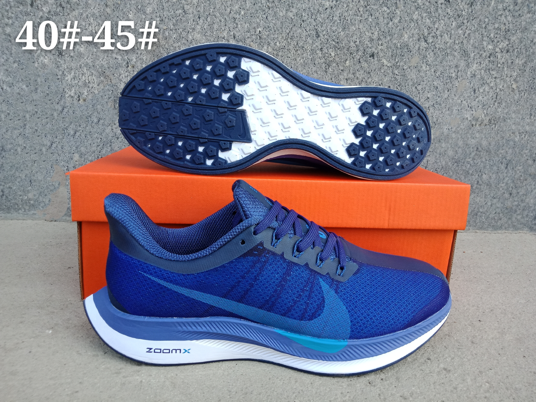 Nike Air Zoom Pegasus 35X Blue Shoes