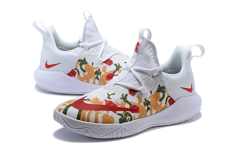Nike Air Zoom Team II Flor Red White Shoes
