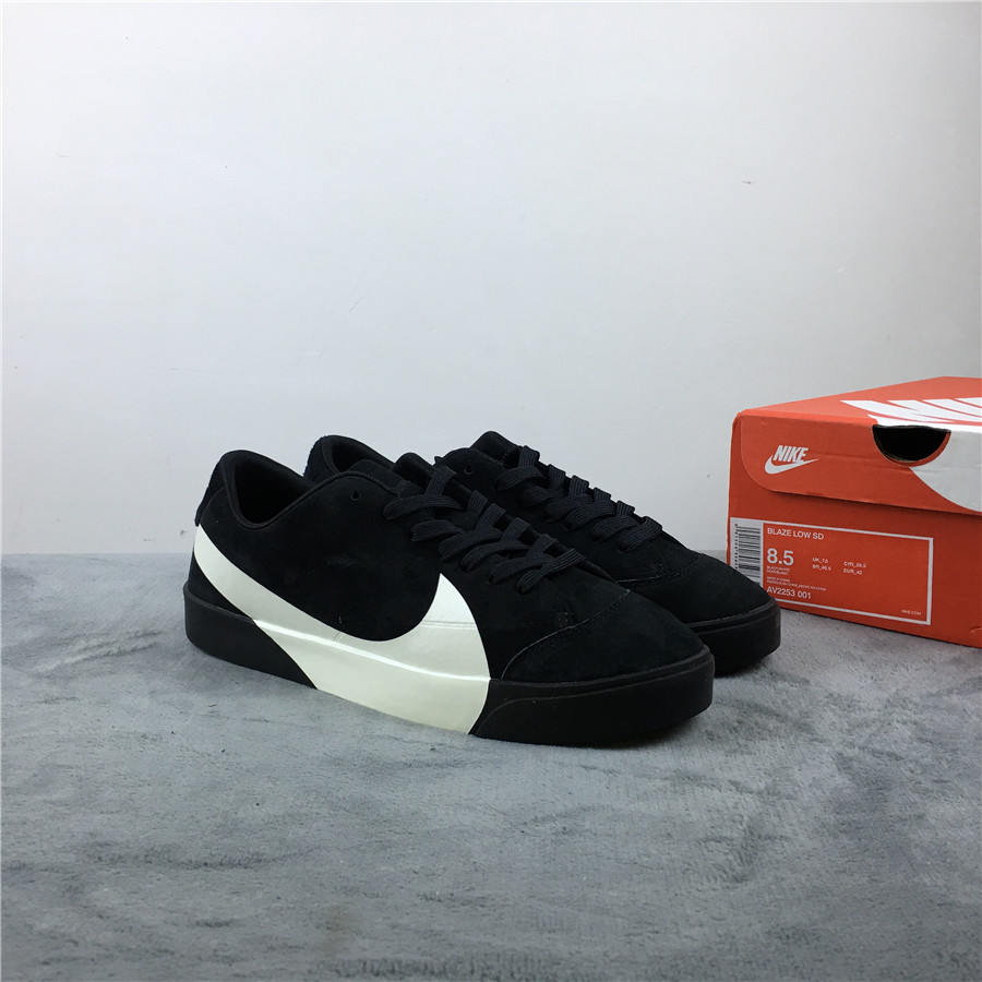 Nike Blazer Low LX Black White Shoes For Women