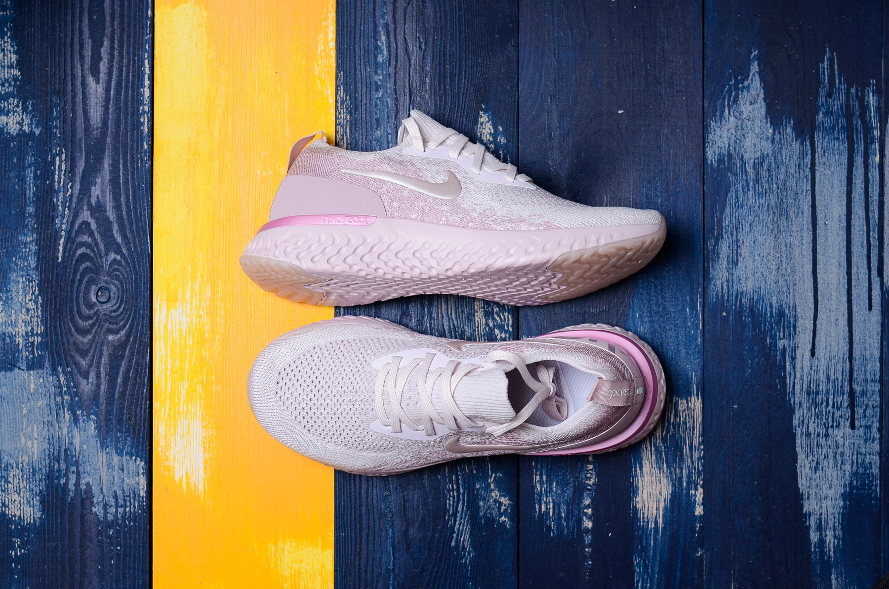 Nike Epic React Flyknit Pink For Women
