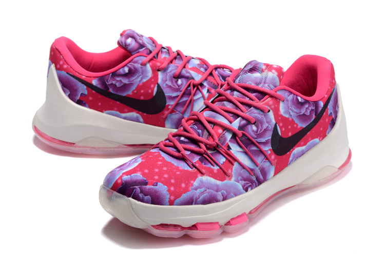 Nike KD 8 Breast Cancer Basketball Shoes
