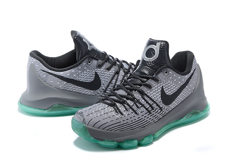 Nike KD 8 Carbon Grey Black Basketball Shoes