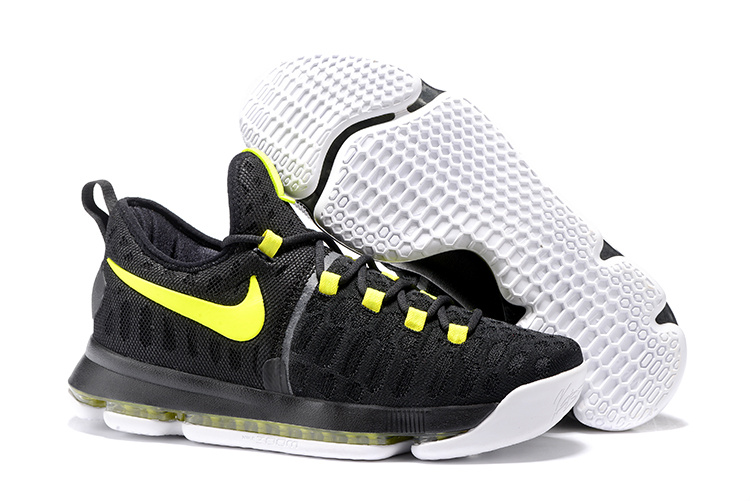 Nike KD 9 Black Fluorescent green Shoes