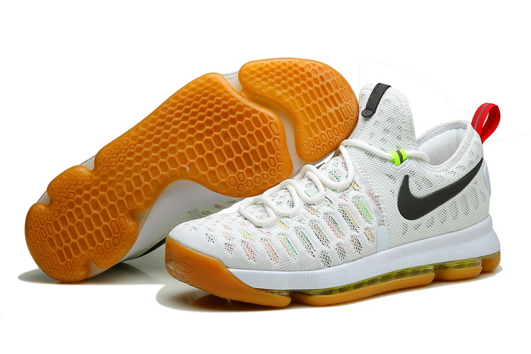 Nike KD 9 Colorful White Shoes