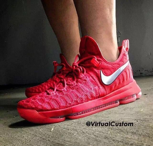 Nike KD 9 Dymanic Red Limited Edition Basketball Shoes