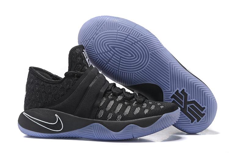 f3223347a2a5 Nike Kyrie 2.5 Black Blue Basketball Shoes