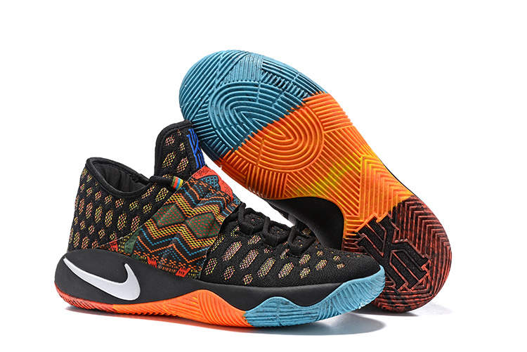 Nike Kyrie 2.5 Colorful Black Basketball Shoes