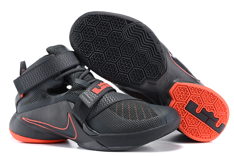 Nike LeBron Solider 9 Big Unlined Upper Garment Basketball Shoes