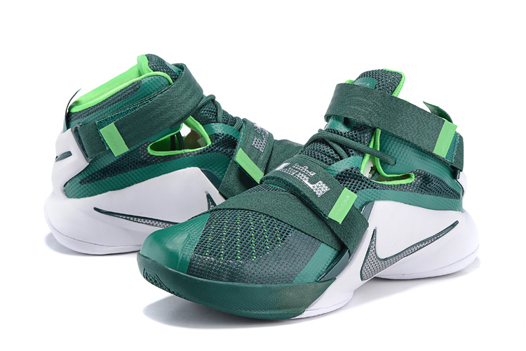 Nike LeBron Solider 9 Emerald Green Basketball Shoes