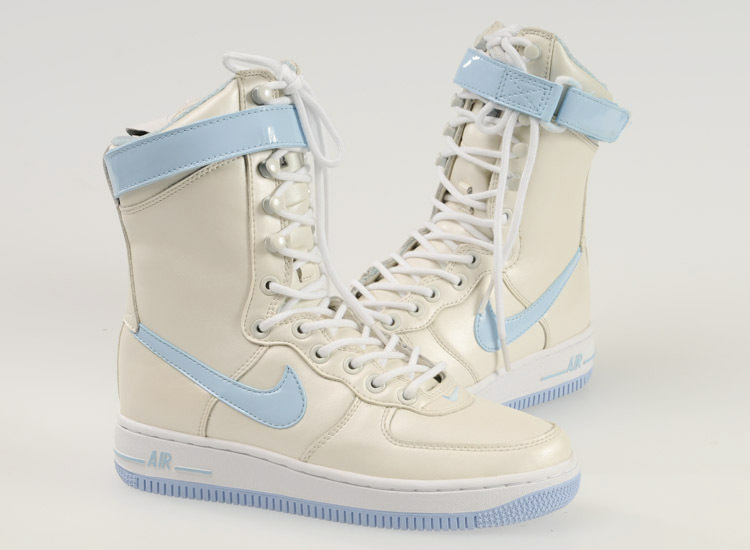 Nike Women Air Force 1 High White Jade Sneaker