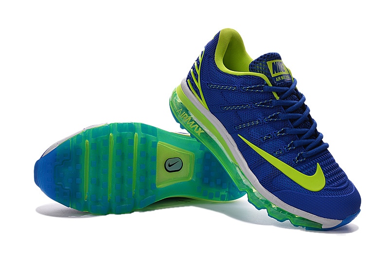 Air Max 2016 2 Blue Fluorscent Green Shoes