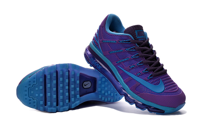 buy popular a445b b25bd Air Max 2016 2 Purple Blue Shoes For Women