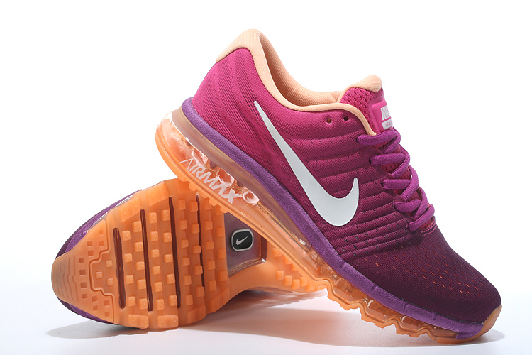 Air Max 2017 Peach Orange Shoes For Women
